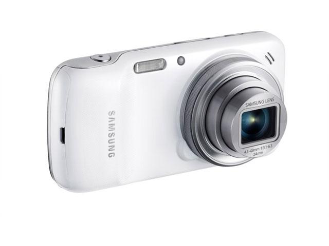 Samsung Galaxy S4 Zoom : vue de dos