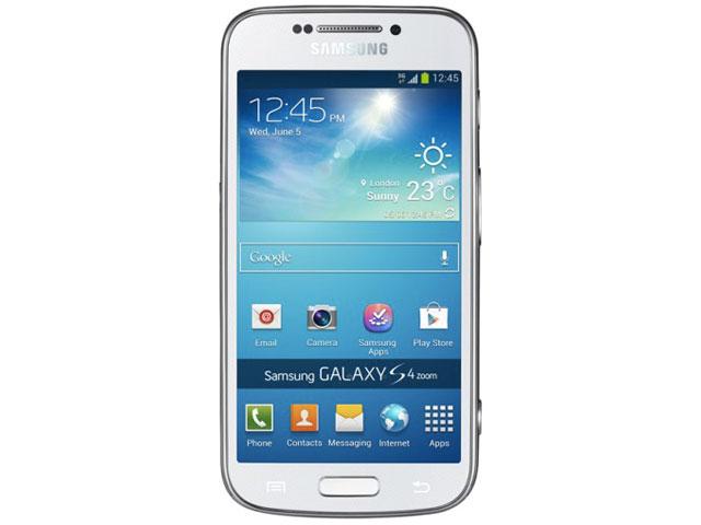 Samsung Galaxy S4 Zoom : vue de face