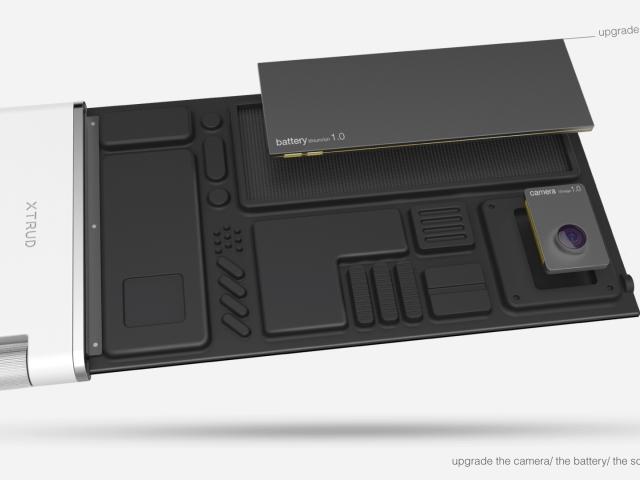 Sony XTRUD : les modules