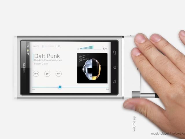Sony XTRUD : design général