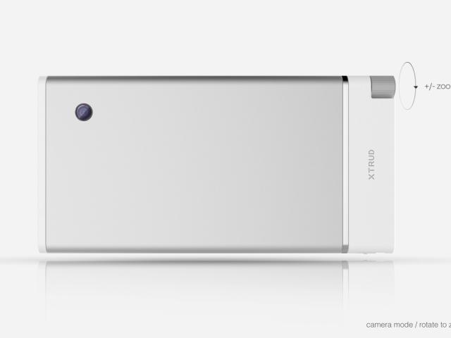 Sony XTRUD : la coque arrière