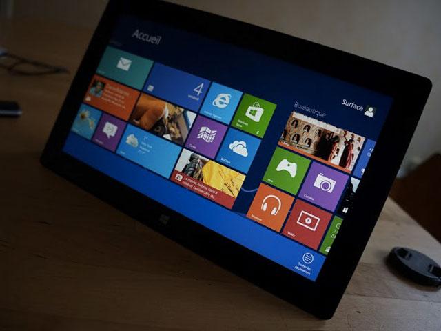 Vidéo bouton démarrer Windows 8.1