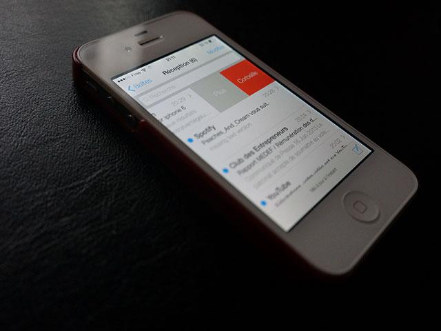 Vidéo Mail iOS 7