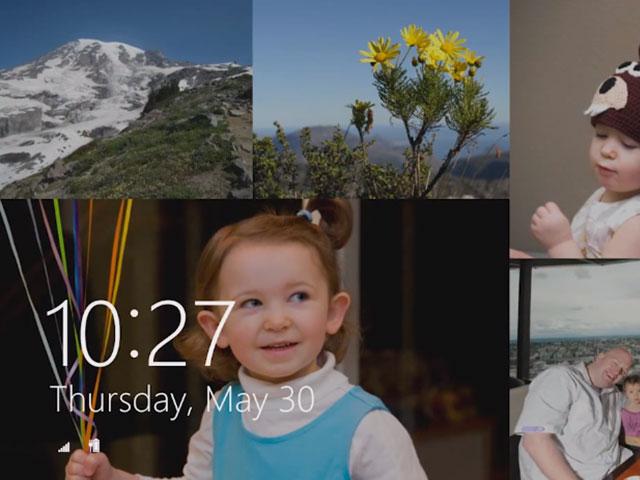Windows 8.1 : le nouvel écran de verrouillage