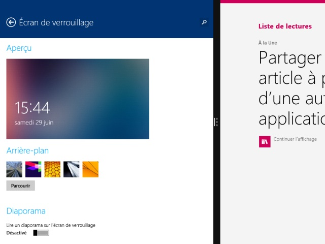 Windows 8.1 : le multitâche