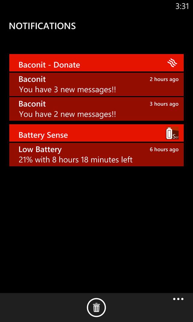 Windows Phone 8 : le centre de notifications