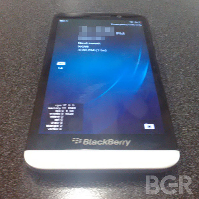 BlackBerry A10 : une seconde image