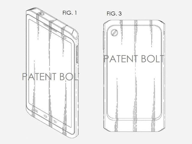 Brevet Samsung : une première image