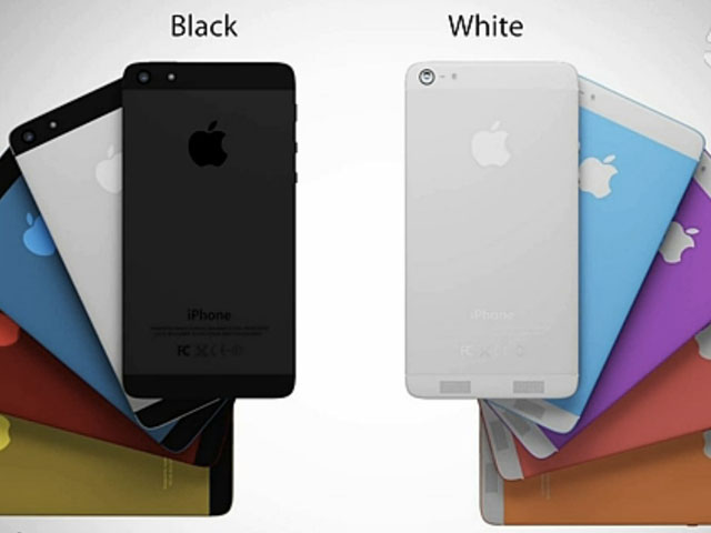 Concept iPhone 6 coloré