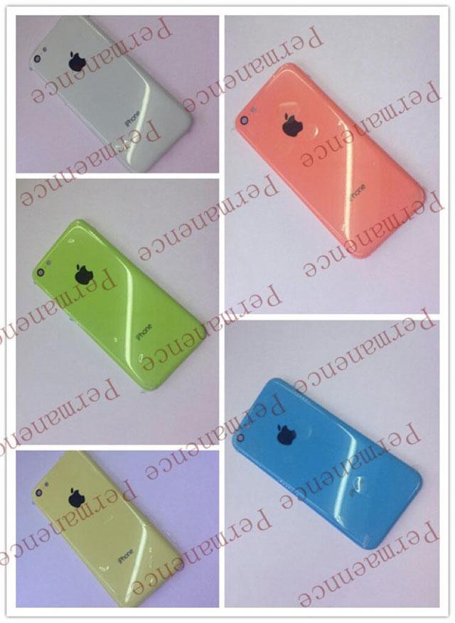 """Une photo des coques arrières de l'iPhone """"low cost"""" ?"""