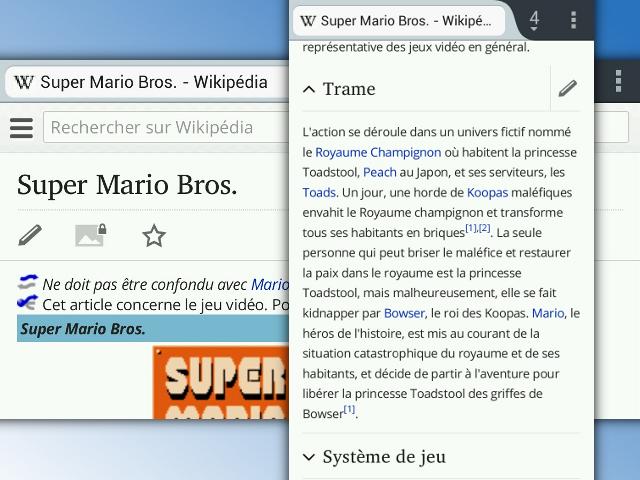 Éditer Wikipédia depuis un mobile