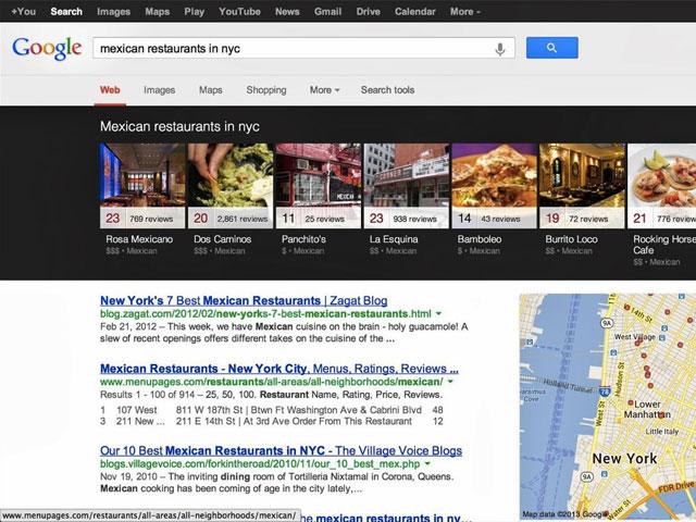 Modifications SERPs Google Juillet 2013