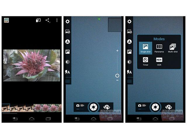 Interface Moto X : une quatrième capture