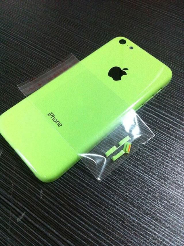 "iPhone ""low cost"" vert : une première image"
