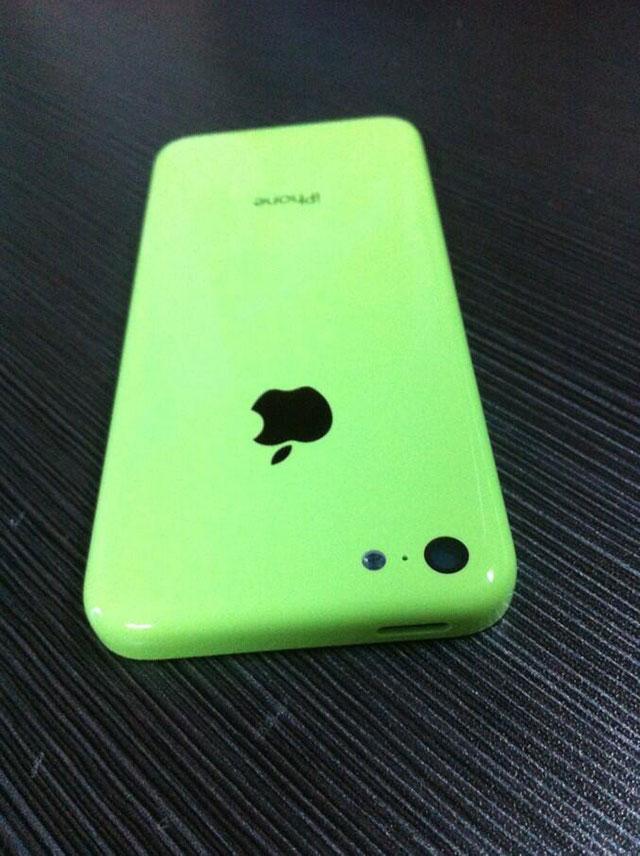"""iPhone """"low cost"""" vert : une troisième image"""