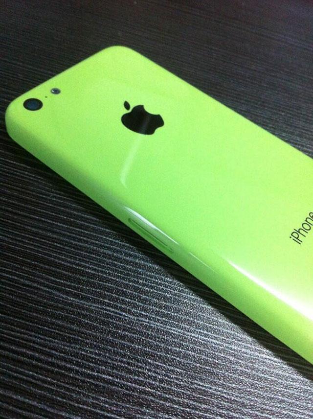 """iPhone """"low cost"""" vert : une quatrième image"""
