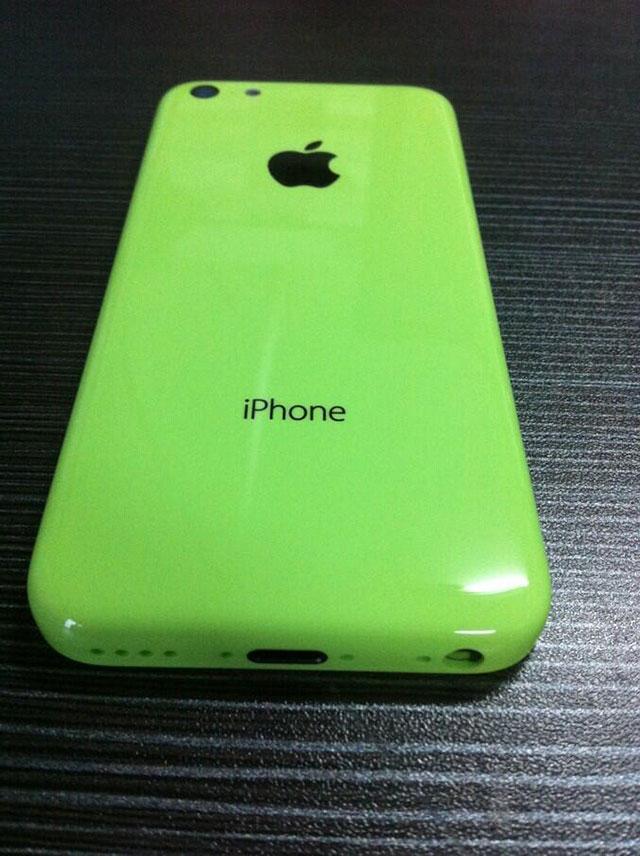 "iPhone ""low cost"" vert : une cinquième image"