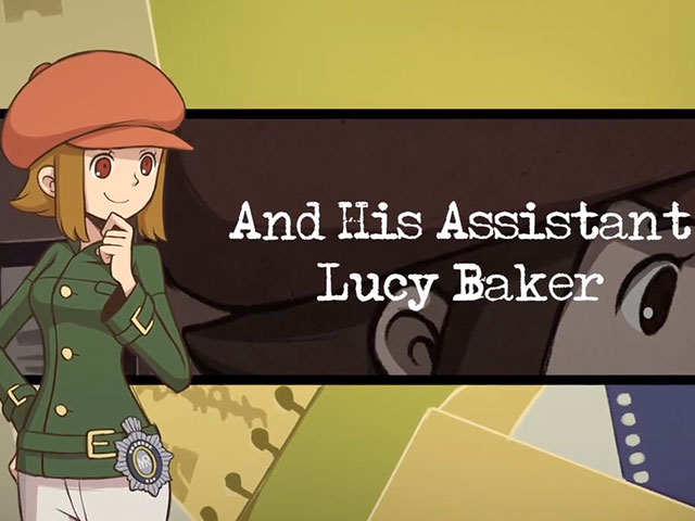 Layton Brothers Mystery Room : Lucy Baker, son assistante