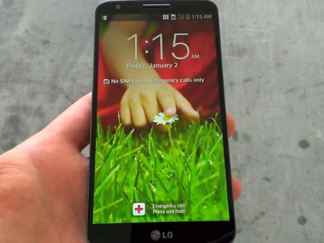 LG Optimus G2 : une troisième image