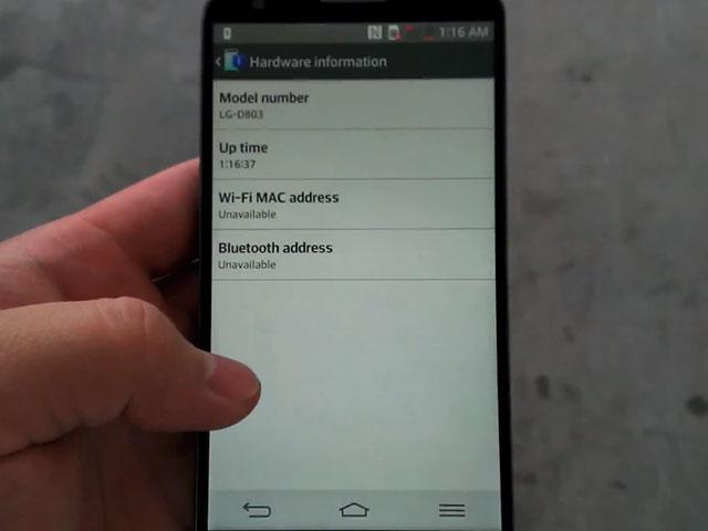 LG Optimus G2 : une septième image