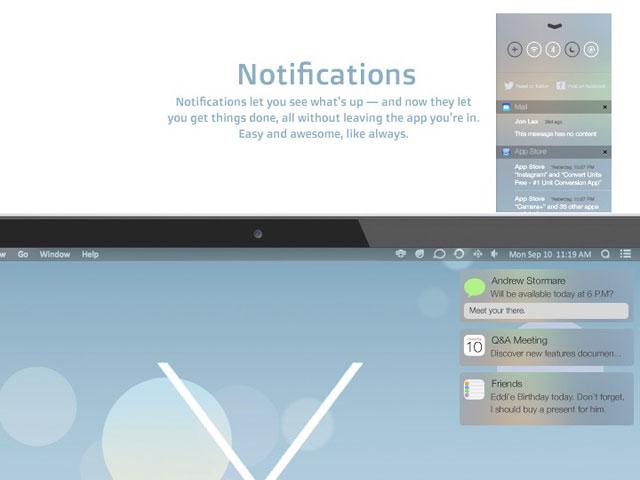 Concept OS X avec iOS 7 : une cinquième image