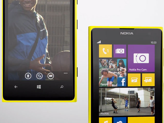 Nokia Lumia 1020 : Windows Phone 8