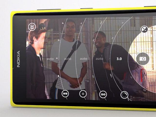Nokia Lumia 1020 : les réglages manuels