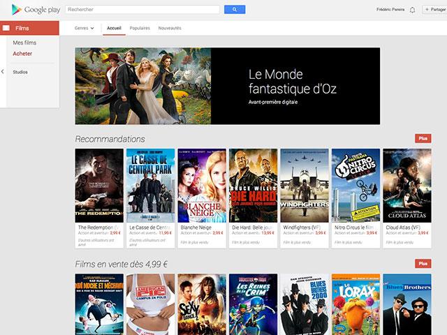 Nouveau Google Play Store : les vidéos