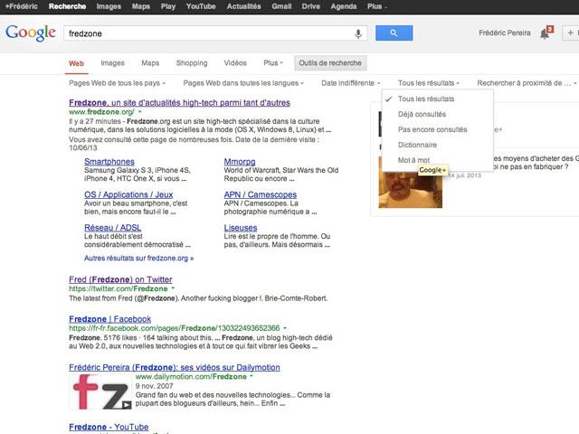 Google Search : de nouveaux critères pour la recherche