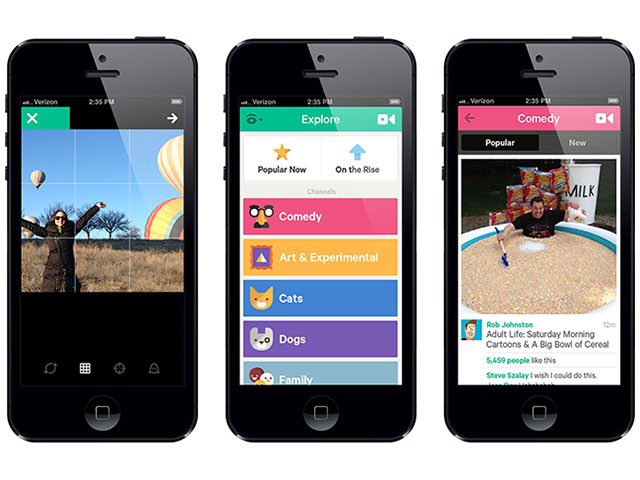 Vine : nouvelle version Android