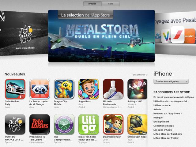 Nouvelle grille tarifaire AppStore