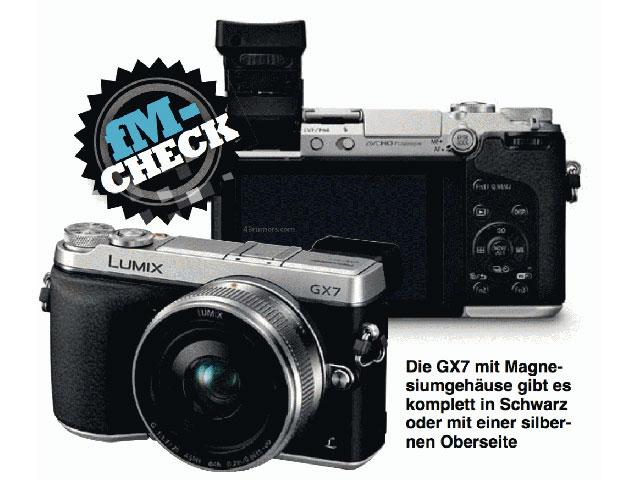 Panasonic Lumix GX7 : une image, les spécifications et le prix !