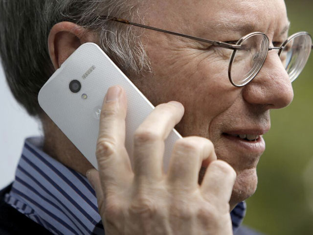 Photo Moto X Eric Schmidt