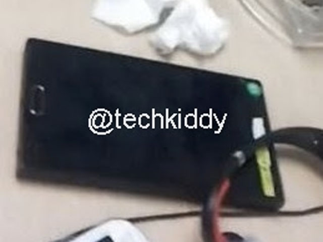 Photo Prototype Samsung Galaxy Note 3