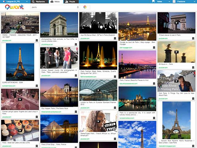 Qwant : la recherche d'images