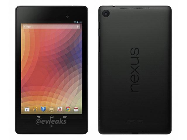 Rendu presse nouvelle Nexus 7