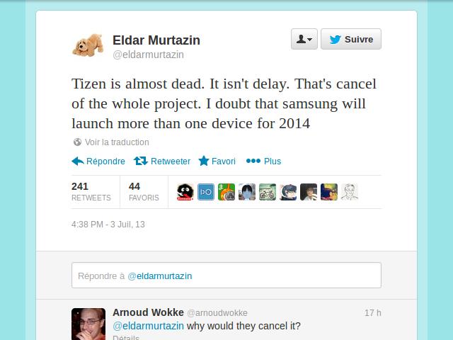 Samsung renoncerait à Tizen