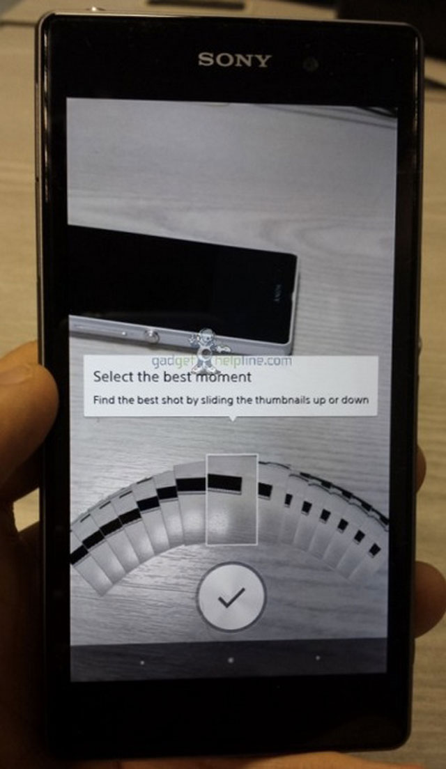 Sony Xperia i1 Honami : une cinquième photo