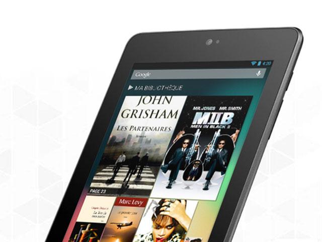 Spécifications nouvelle Nexus 7