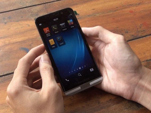 Nouvelle vidéo BlackBerry A10