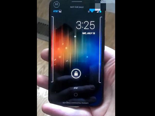 Vidéo Moto X