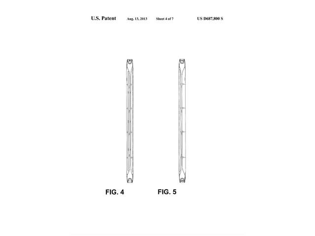 Brevet design Samsung : une quatrième image
