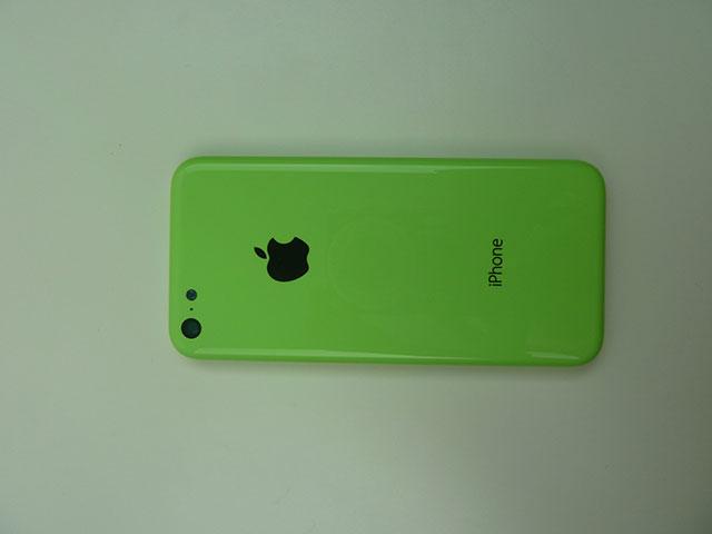 Coque iPhone 5C vert : une seconde image