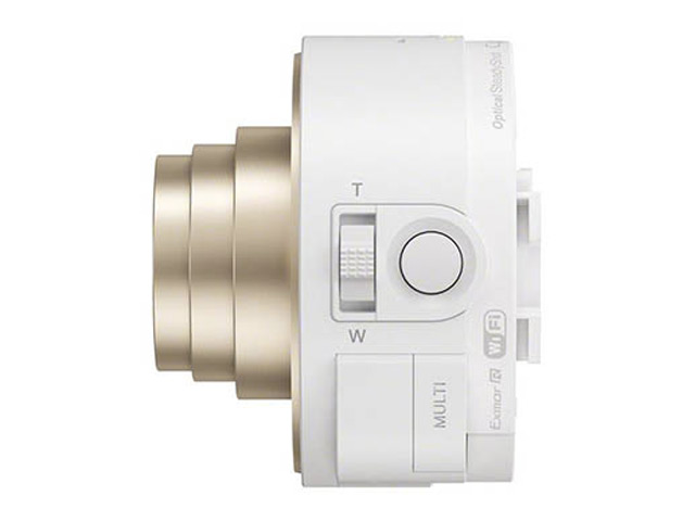 Photos DSC-QX10 blanc : une seconde image