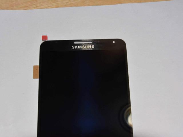 Ecran Samsung Galaxy Note 3 : une quatrième image