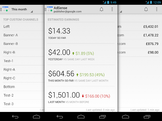 Google AdSense sur Android
