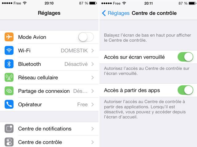 iOS 7 bêta 5