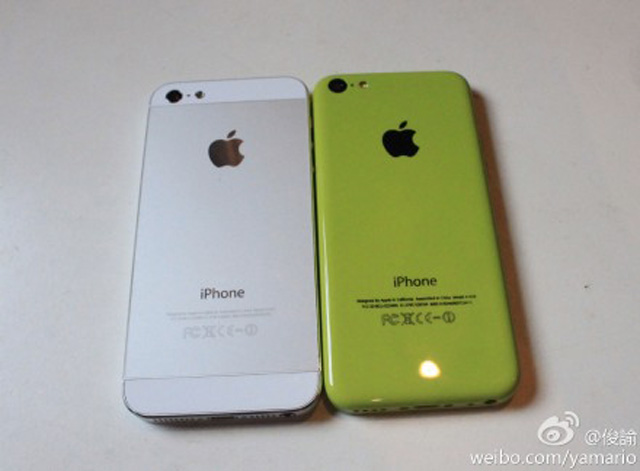 iPhone 5C en fonctionnement : une seconde image