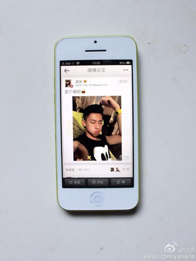 iPhone 5C en fonctionnement : une troisième image