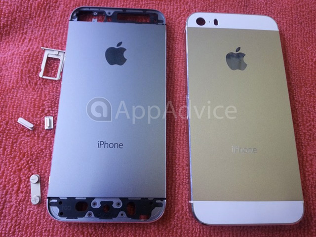 iPhone 5S Gold / Champagne : une première image